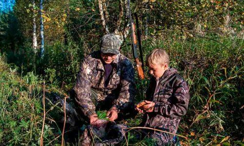 Los menores y la caza.