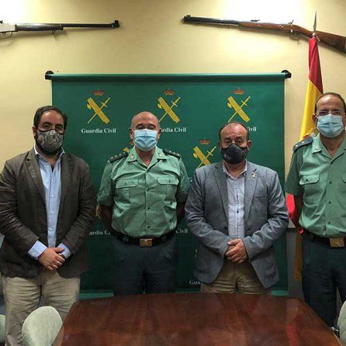 La RFEC y la Guardia Civil abordan el nuevo convenio para la expedición de licencias de armas de caza