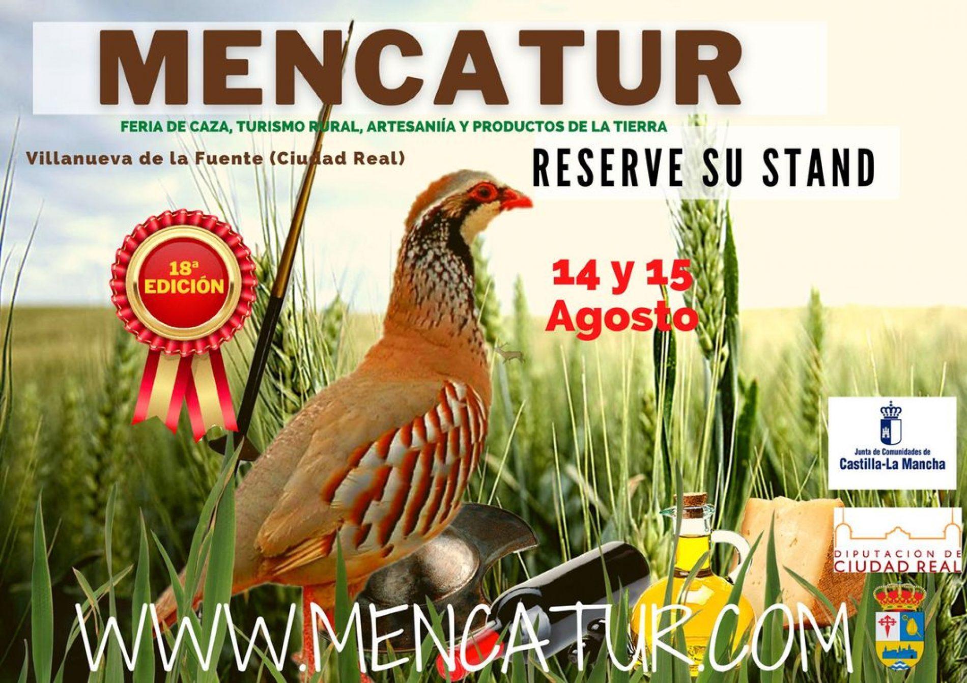 Vuelve Mencatur, la Feria de Caza, Turismo Rural, Artesanía y Productos de la Tierra