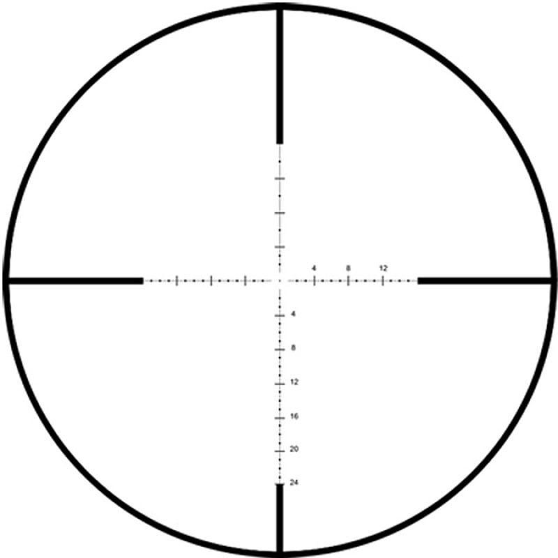 La R3 es otra retícula de diseño táctico con buen desempeño en los recechos a larga distancia