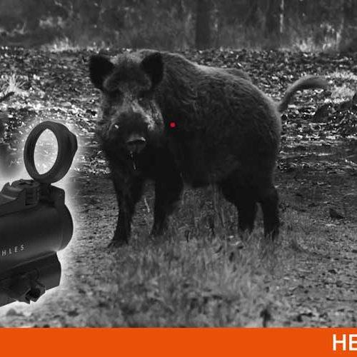 Visor punto rojo Kahles Helia RD-C, ideal para disparar con seguridad