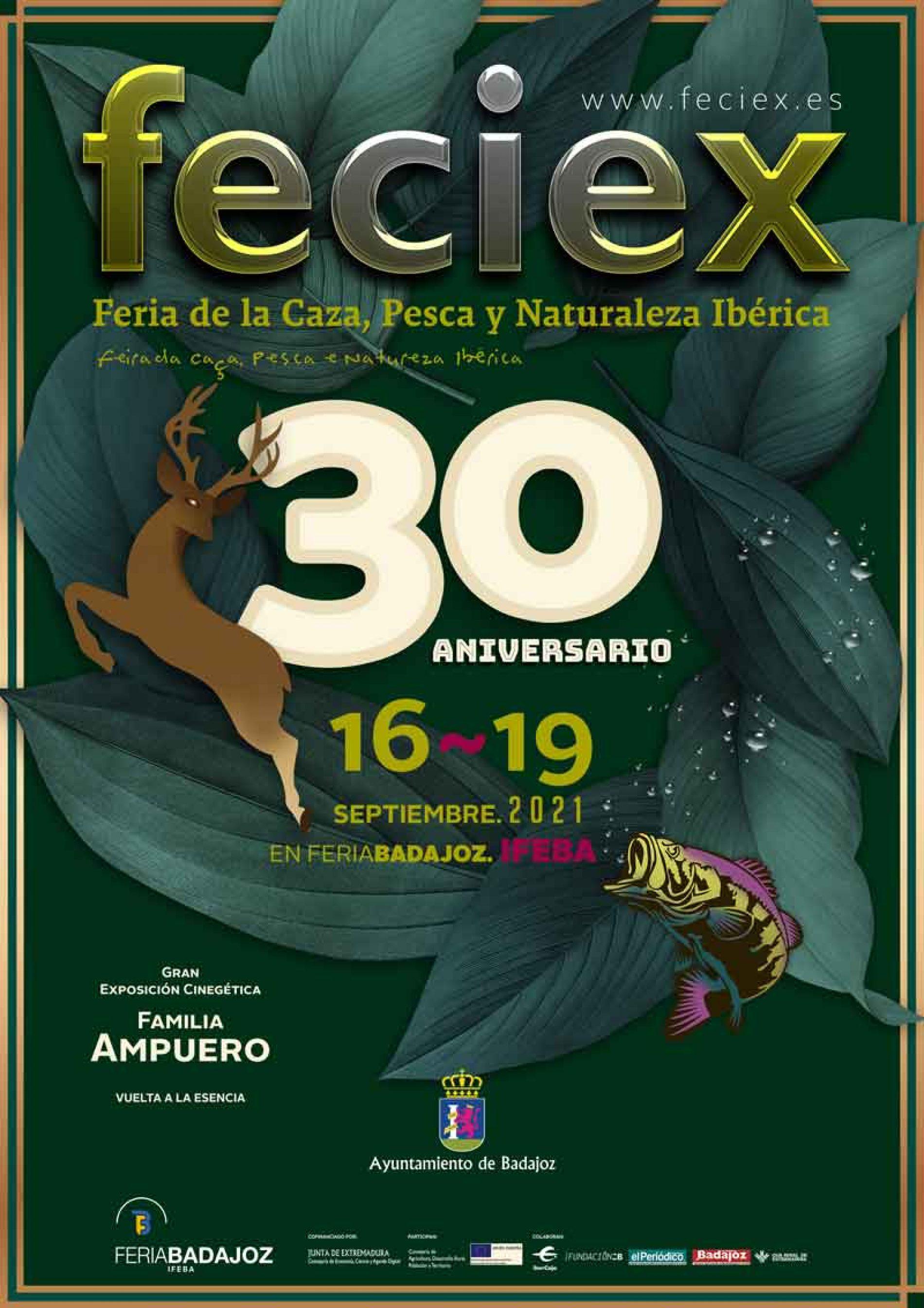 Vuelve Feciex, Feria de la Caza, Pesca y Naturaleza Ibérica en su 30.º aniversario