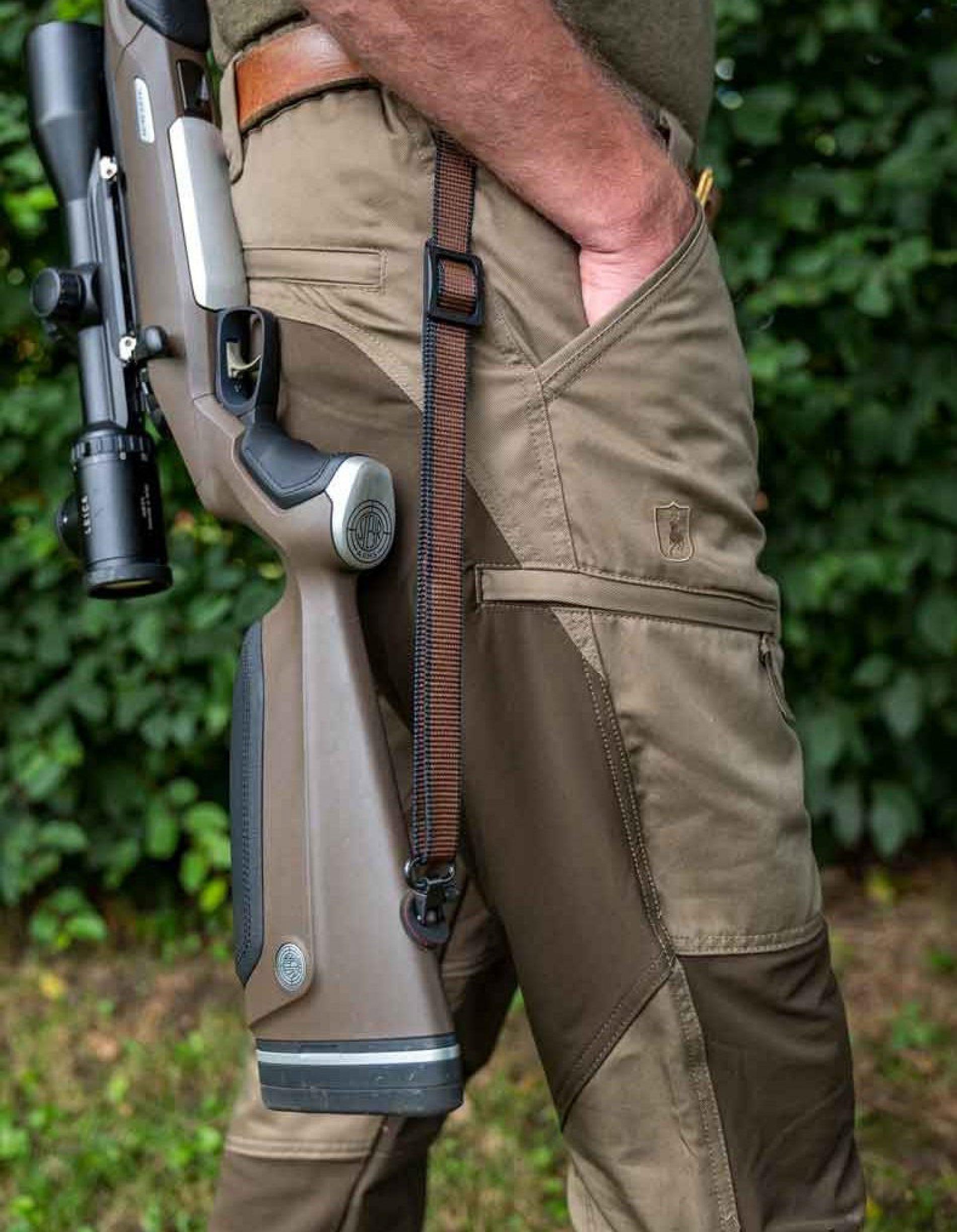 Pantalones Deerhunter Rogaland, cómodos y flexibles para largas jornadas de caza
