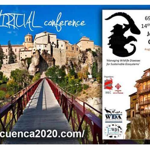 El IREC reúne a casi 600 científicos y profesionales de la salud de la fauna silvestre en el congreso internacional WDA-EWDA