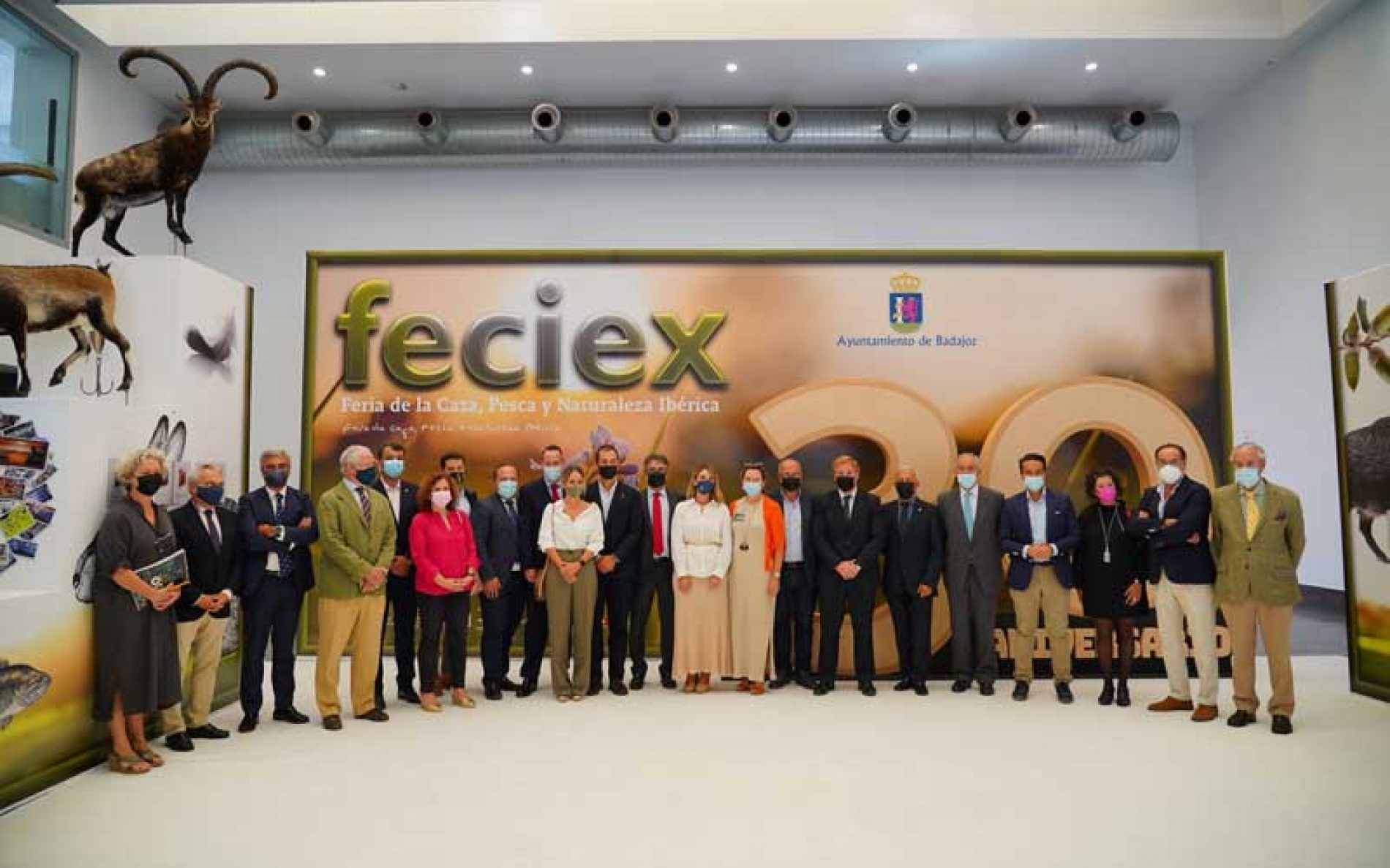 Inaugurada la Feria de la Caza, Pesca y Naturaleza Ibérica, FECIEX 2021