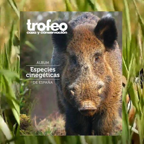 En octubre, con TROFEO CAZA, ¡el álbum ESPECIES CINEGÉTICAS DE ESPAÑA!