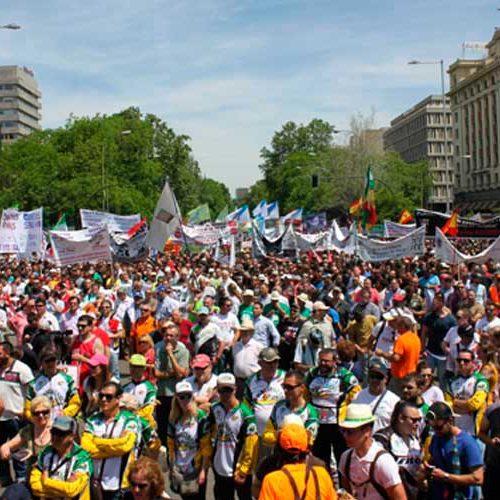 La ONC convoca una manifestación en Madrid el 20 de marzo «como respuesta a los últimos ataques del Gobierno»