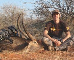 caza con arco trofeo